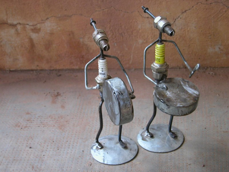 Recycle figuur-trommel