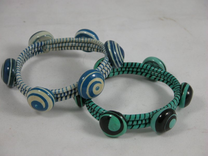 Armband, recycle teenslipper
