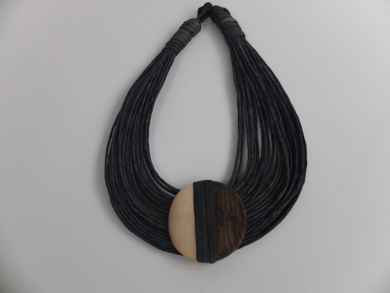 Ketting,  hout/been